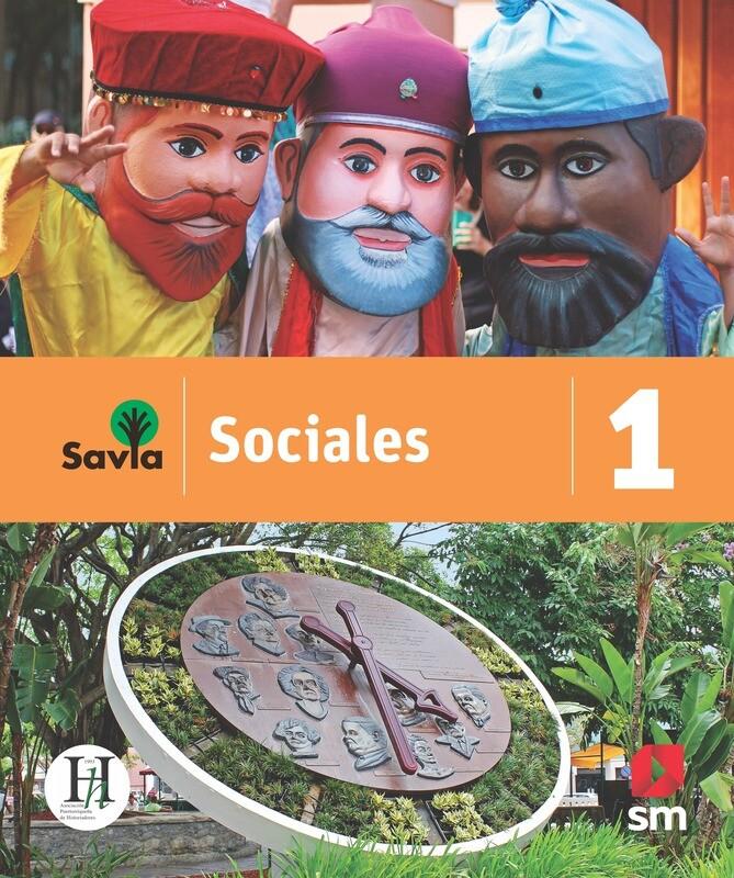 PRIMERO - SAVIA SOCIALES 1 TEXTO, VOCABULARIO PARA COMPRENDER Y ACCESO DIGITAL - SM - 2020 - ISBN 9781630148065