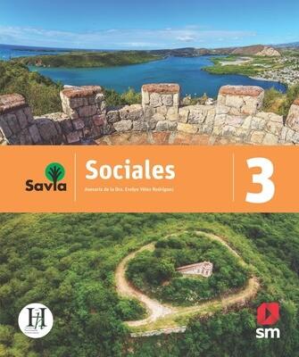 TERCERO - SAVIA SOCIALES 3 TEXTO, VOCABULARIO PARA COMPRENDER Y ACCESO DIGITAL - SM - 2020 - ISBN 9781630148089