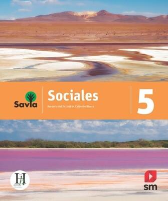 QUINTO - SAVIA SOCIALES 5 TEXTO, VOCABULARIO PARA COMPRENDER Y ACCESO DIGITAL - SM - 2020 - ISBN 9781630148102