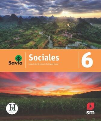 SEXTO - SAVIA SOCIALES 6 TEXTO, VOCABULARIO PARA COMPRENDER Y ACCESO DIGITAL - SM - 2020 - ISBN 9781630148119