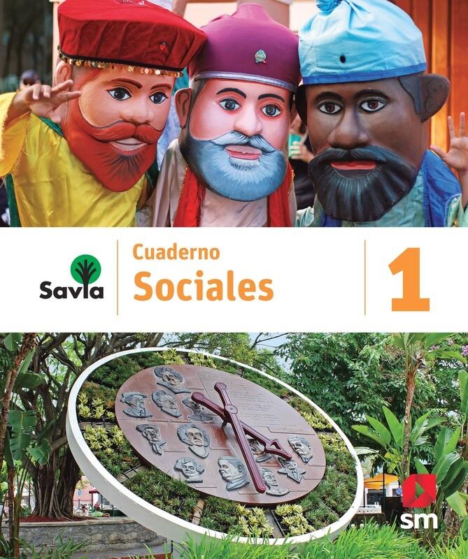 PRIMERO - SAVIA SOCIALES 1 CUADERNO - SM - 2020 - ISBN 9781630148126