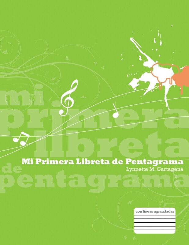 QUINTO - MI PRIMERA LIBRETA DE PENTAGRAMA - K&M - ISBN 9780990894728