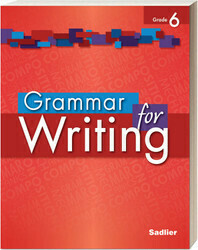 SEXTO - GRAMMAR FOR WRITING LEVEL RED GRADE 6 - SOFTCOVER - SADL - 2014 - ISBN 9781421711164
