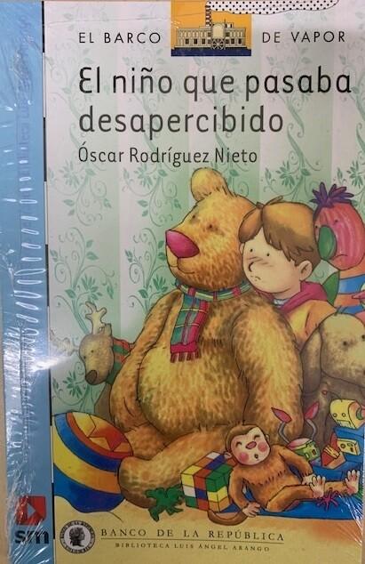 TERCERO - EL NIÑO QUE PASABA DESAPERCIBIDO - SM - ISBN 9789587052848