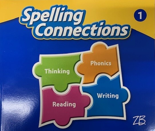 SEGUNDO - SPELLING CONNECTIONS GRADE 1 - ZB - 2016 - ISBN 9781453117231