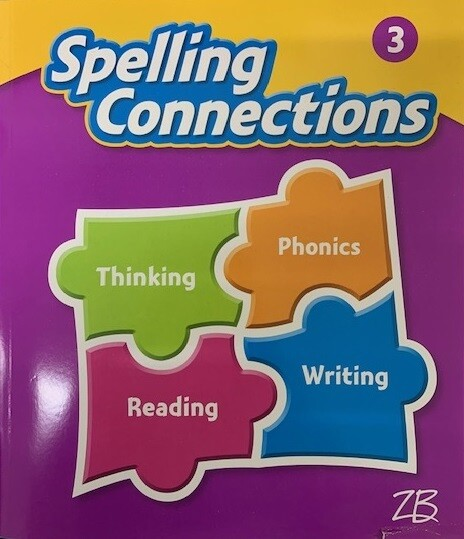 TERCERO - SPELLING CONNECTIONS GRADE 3 - ZB - 2016 - ISBN 9781453117255