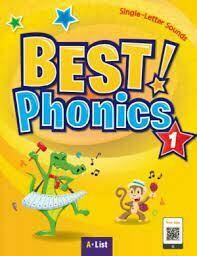 PRIMERO - BEST PHONICS 1 SINGLE-LETTER SOUNDS (SB+READERS+DVD+CD) - LW - 2018 - ISBN 9788925666631