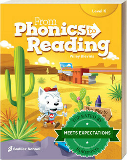 KINDERGARTEN - FROM PHONICS TO READING LEVEL K - 2020 - SADL - ISBN 9781421715407