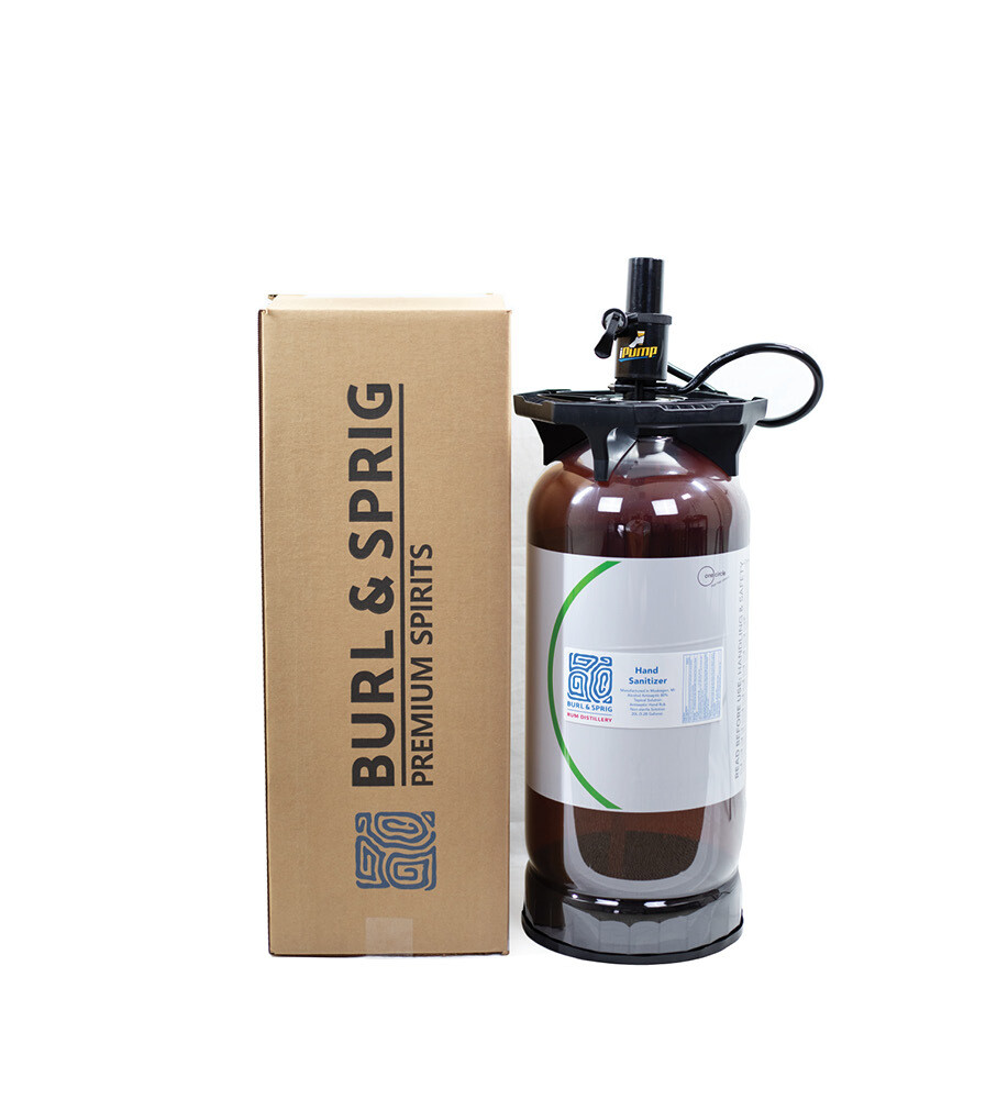 Hand / Surface Sanitizer filled 20L UniKeg® Disposable/Recyclable