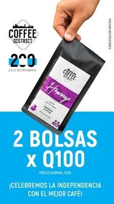 2 x Q100 - Blend Homenaje - Cooperativa Co Atitlán - Proceso Lavado - Bolsa 12 Onz