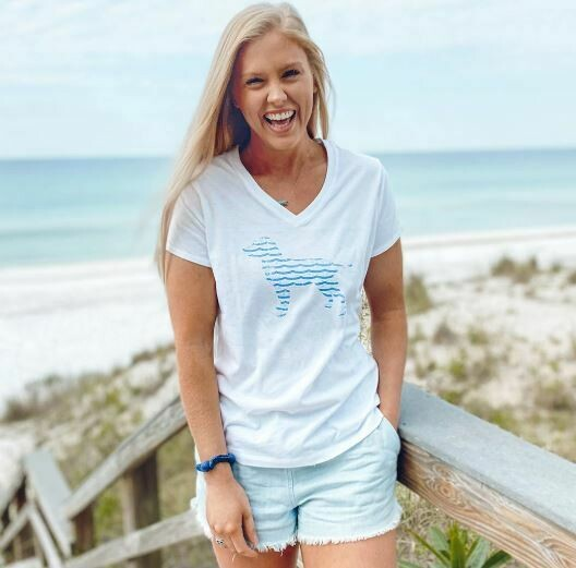 Sea Dog V-Neck Tee