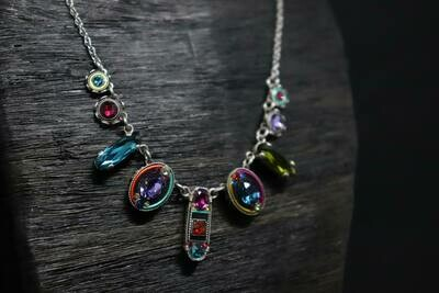 Multicolor Firefly Necklace