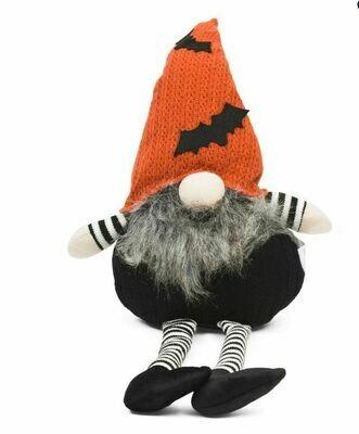 Bat Hat Sitting Gnome