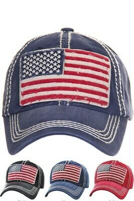 Vintage Flag Hat