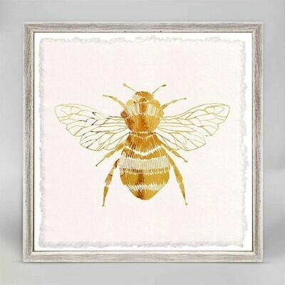 Golden Bee Canvas