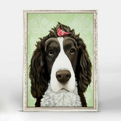 Sweetest Spaniel Canvas