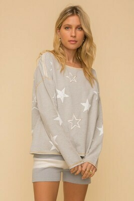 Star French Terry Pullover