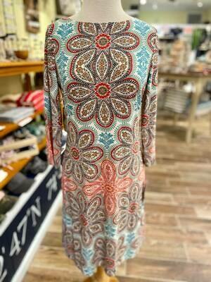 London Style Long Sleeve Dress