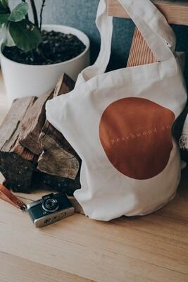 Peachwood Tote Bag