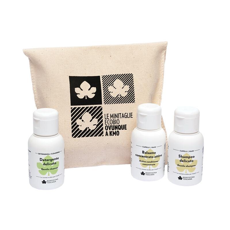 Le Minitaglie- Detergente-Balsamo e Shampoo 50 ml cad.