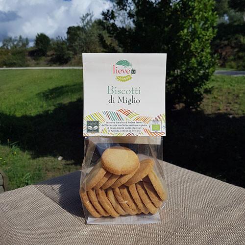 Biscotti di miglio 250 gr.