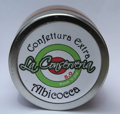 Confettura extra di albicocca  120 gr