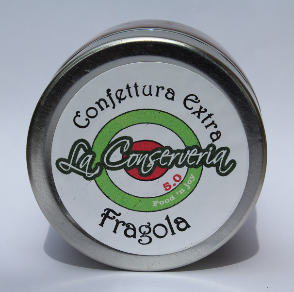 Confettura extra di fragole 120 gr