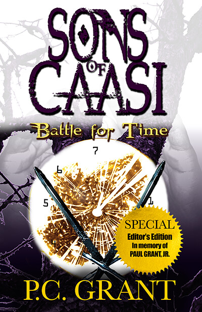 Sons of Caasi: Battle for Time Special Edition, Hardcover Release - Editor's Edition (HC)