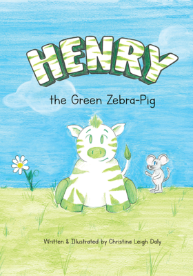 Henry the Green Zebra-Pig (HC)