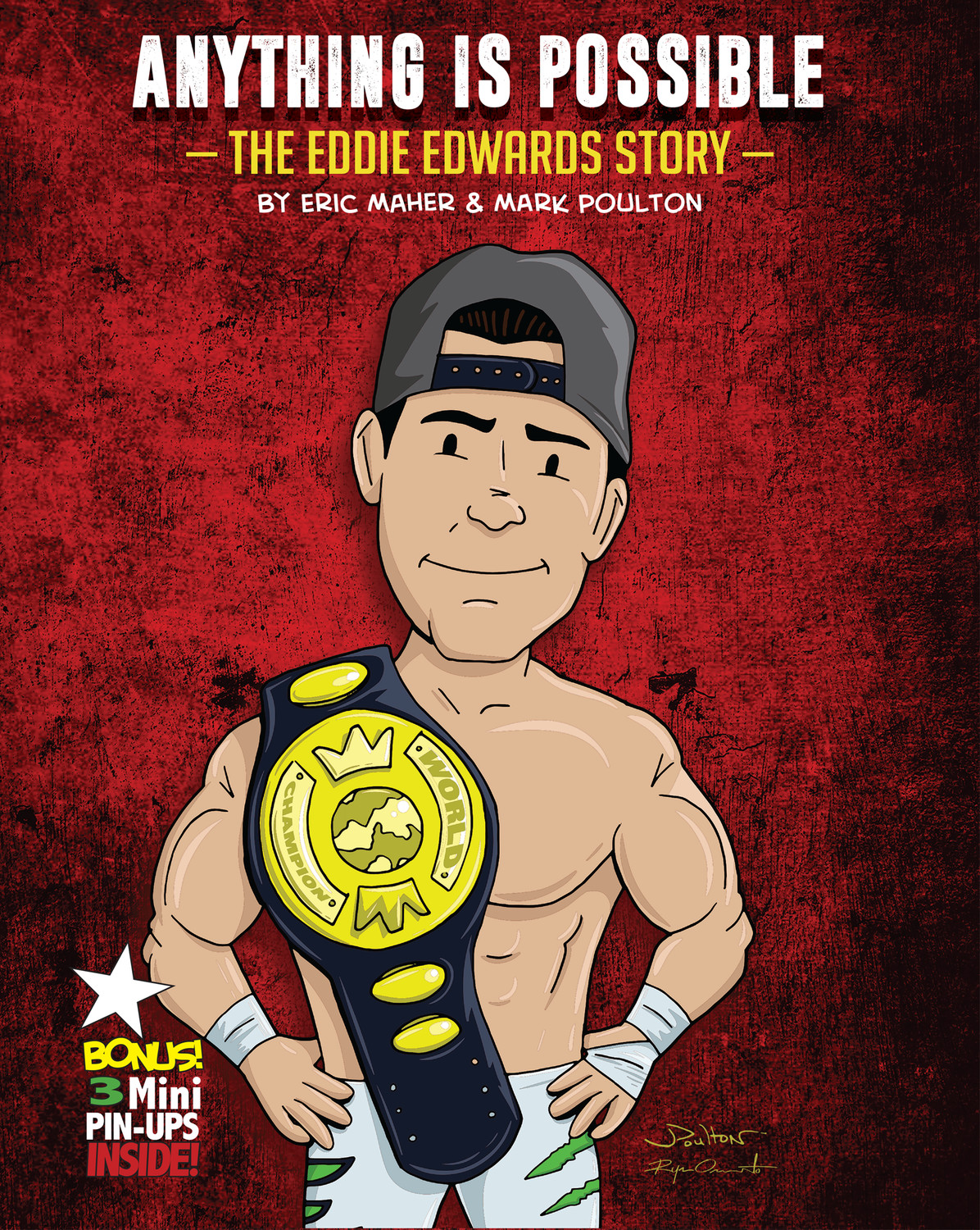 Anything is Possible—The Eddie Edwards Story (HC)