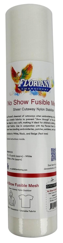 Floriani No Show Nylon Mesh Fusible 12X10