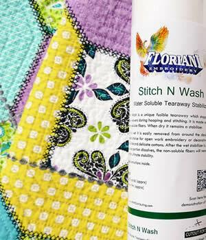 Floriani Stitch N Wash 12x10