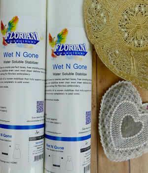 """Floriani Wet N Gone 12""""x25yrds"""