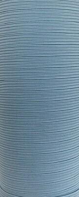 Light Blue - 1/4 inch - 6mm Braided Elastic