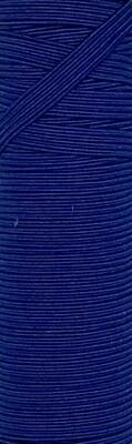 Royal Blue - 1/4 inch - 6mm Braided Elastic