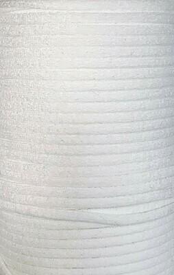 Elastic Cord 4.4 mm Round - White