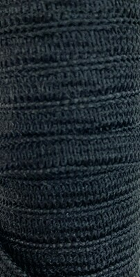 """Pellon Knit Elastic 1/4"""" - 6mm - Black"""
