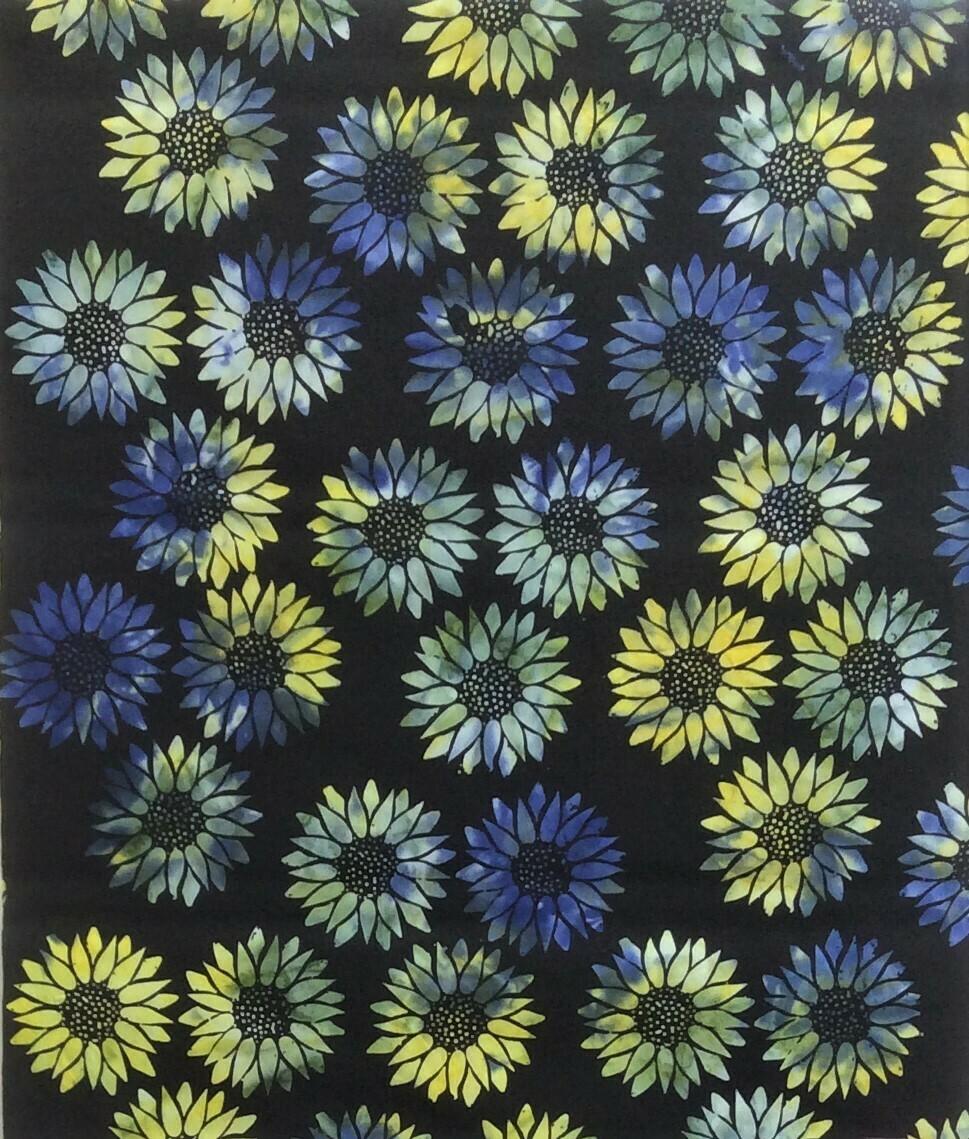 Sunflowers - Blue/Yellow
