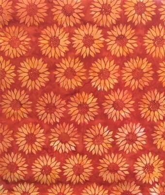 Sunflowers - Orange/Red