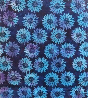 Sunflowers - Blue/Purple
