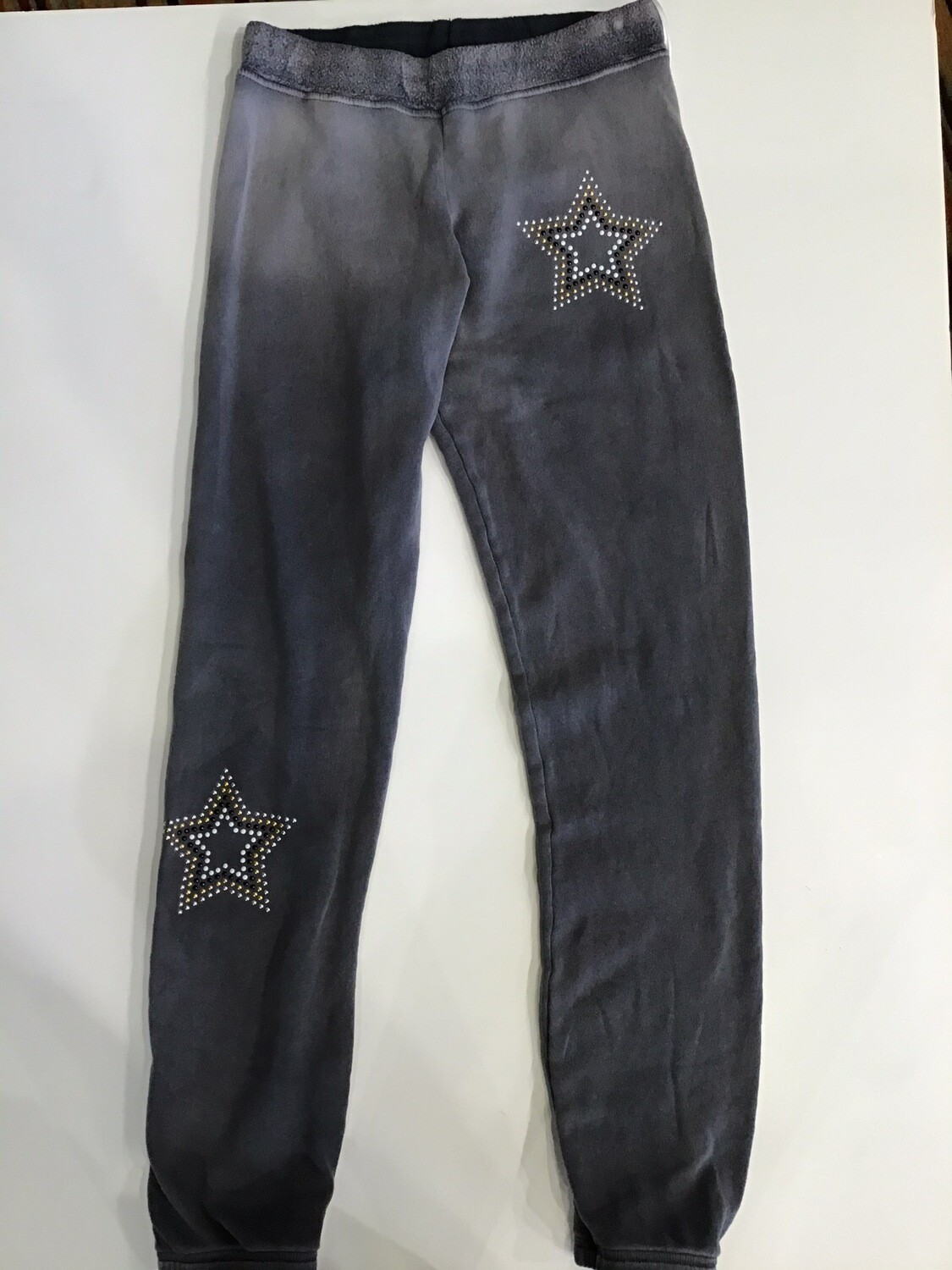 Star Studded Band Bottom Sweatpant
