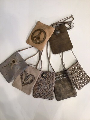 Shooting Star Studded Pouch