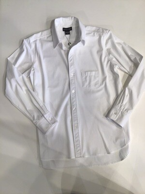 Hi-lo hem button front shirt