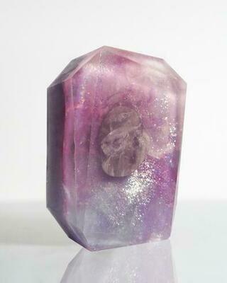 Mindfulness & Awareness Crystal Bar Soap