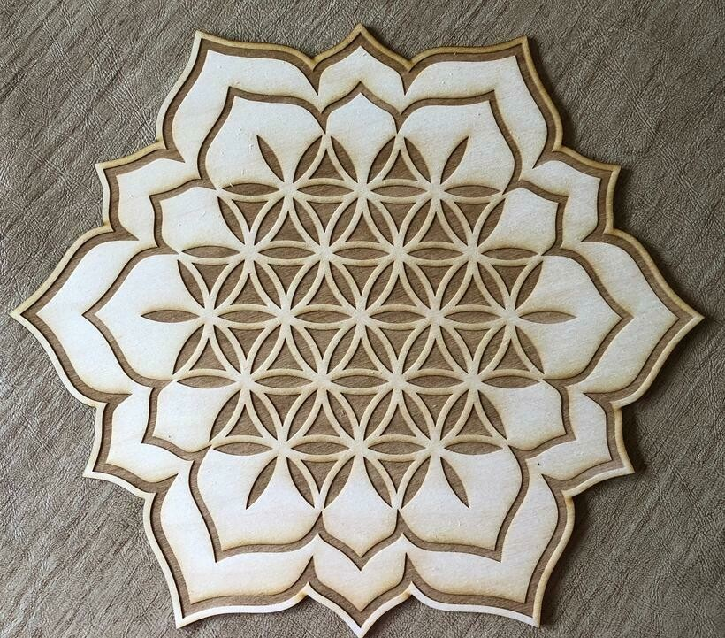 Flower of Life-Lotus (8-inch)