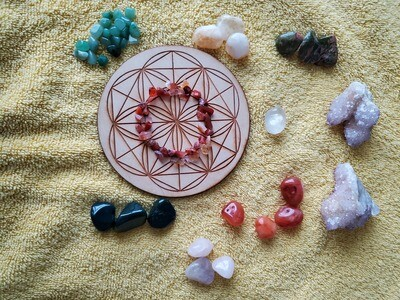 Set it in Stone: Crystal Grid Kit (Custom-Made)