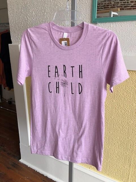 T-Shirt Erth chld Lilac
