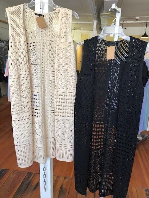 Vest Long Crochet S/L