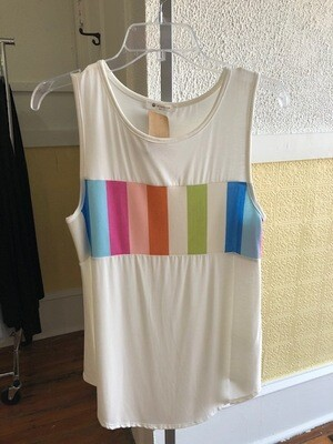 Tank Top Front Stripe