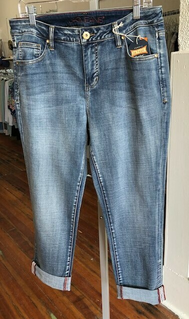 Crop Jeans Girlfriend